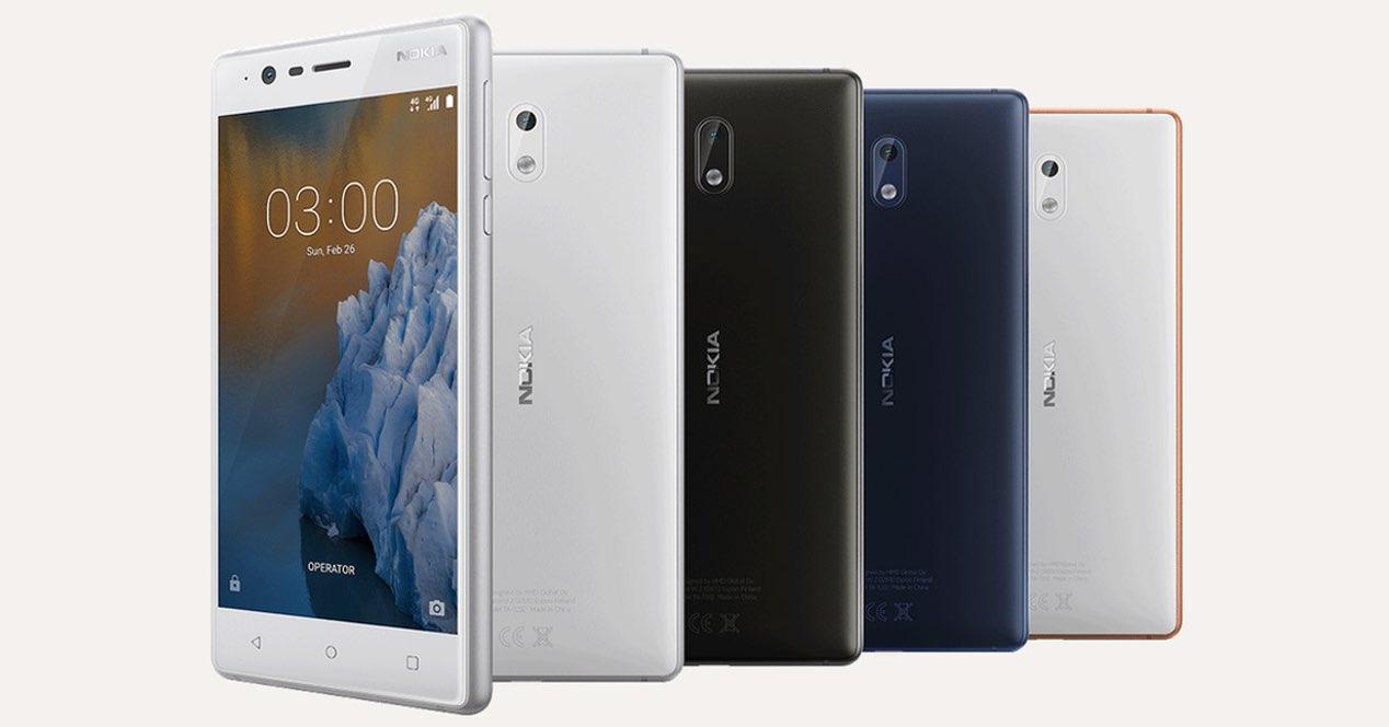 Nokia 3 Colores