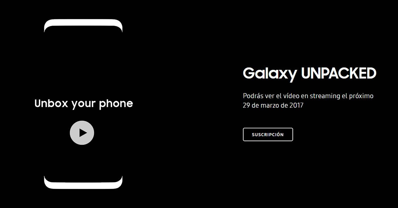presentacion galaxy s8