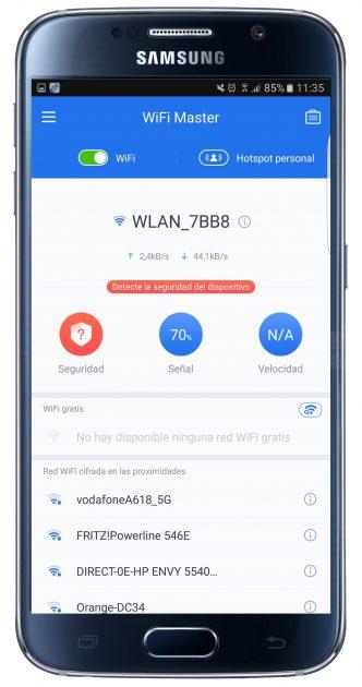 Análisis WiFi Master - Pro & Fast tools