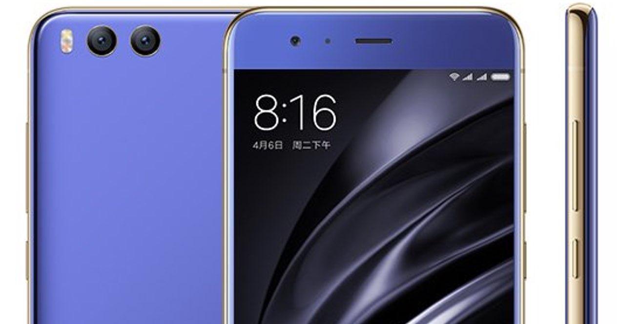 Xiaomi Mi 6 Azul