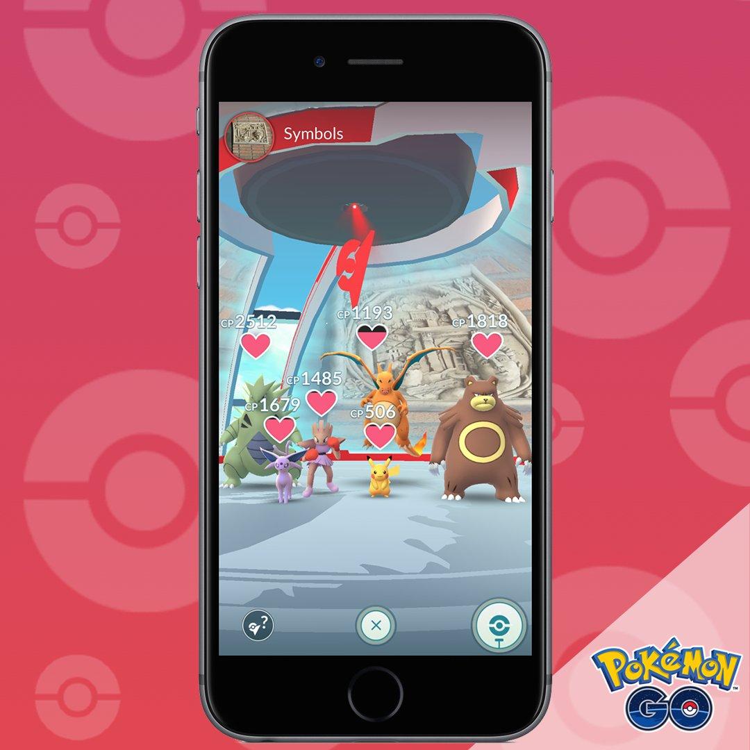 nuevos gimnasios de Pokémon Go