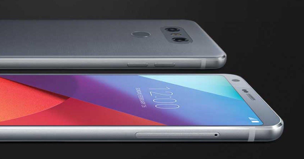 LG con Android Oreo