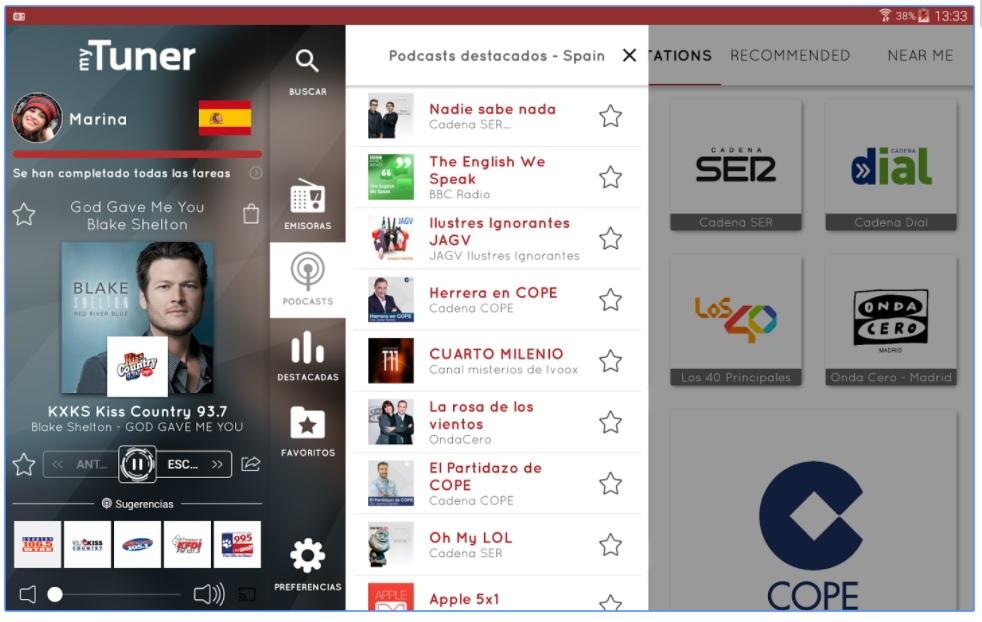aplicaciones imprescindibles Android si te gusta escuchar la radio