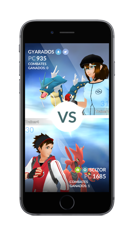 batallas PvP Pokémon Go