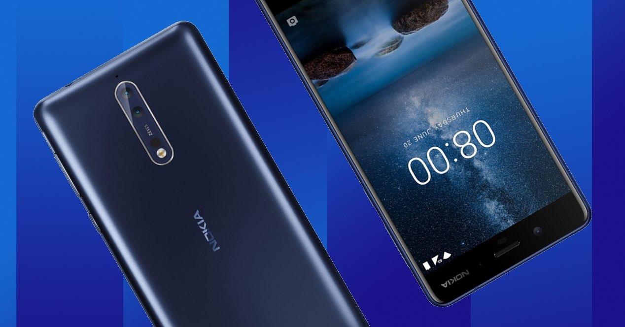 Android 8.1 Oreo en el Nokia 8