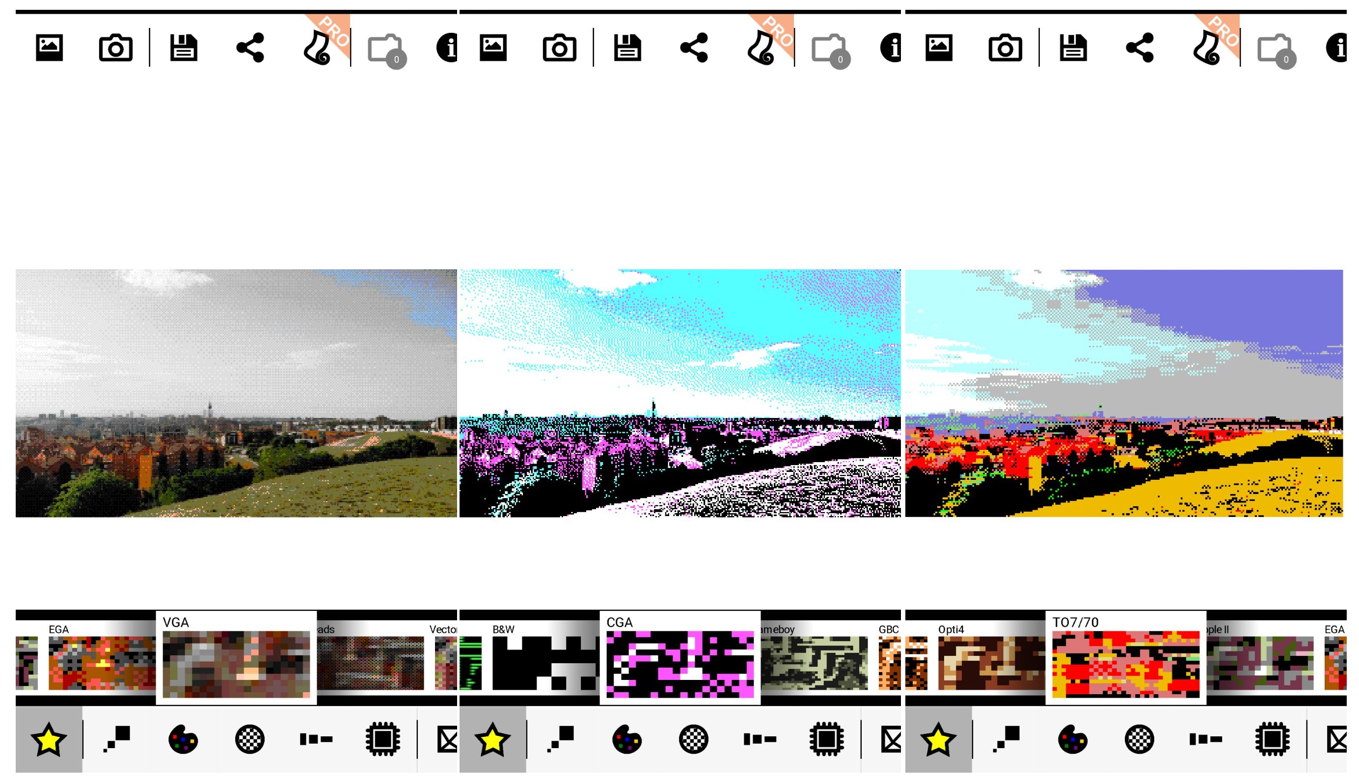 imágenes en 8 bits