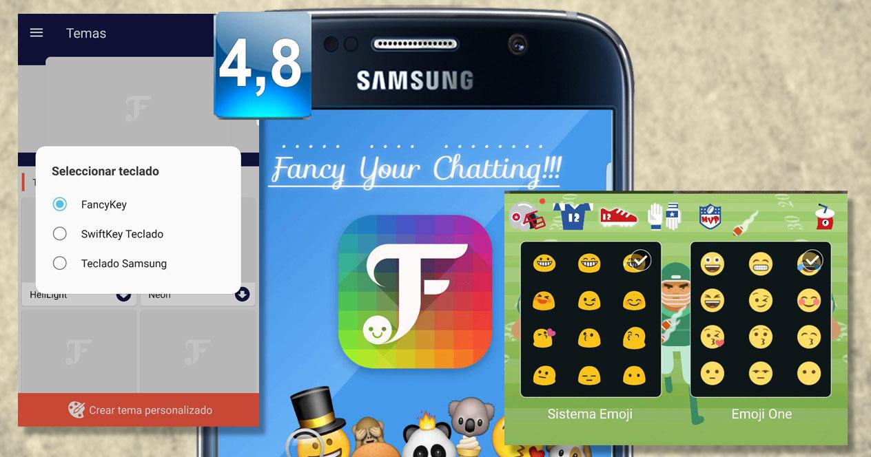 Aplicación FancyKey