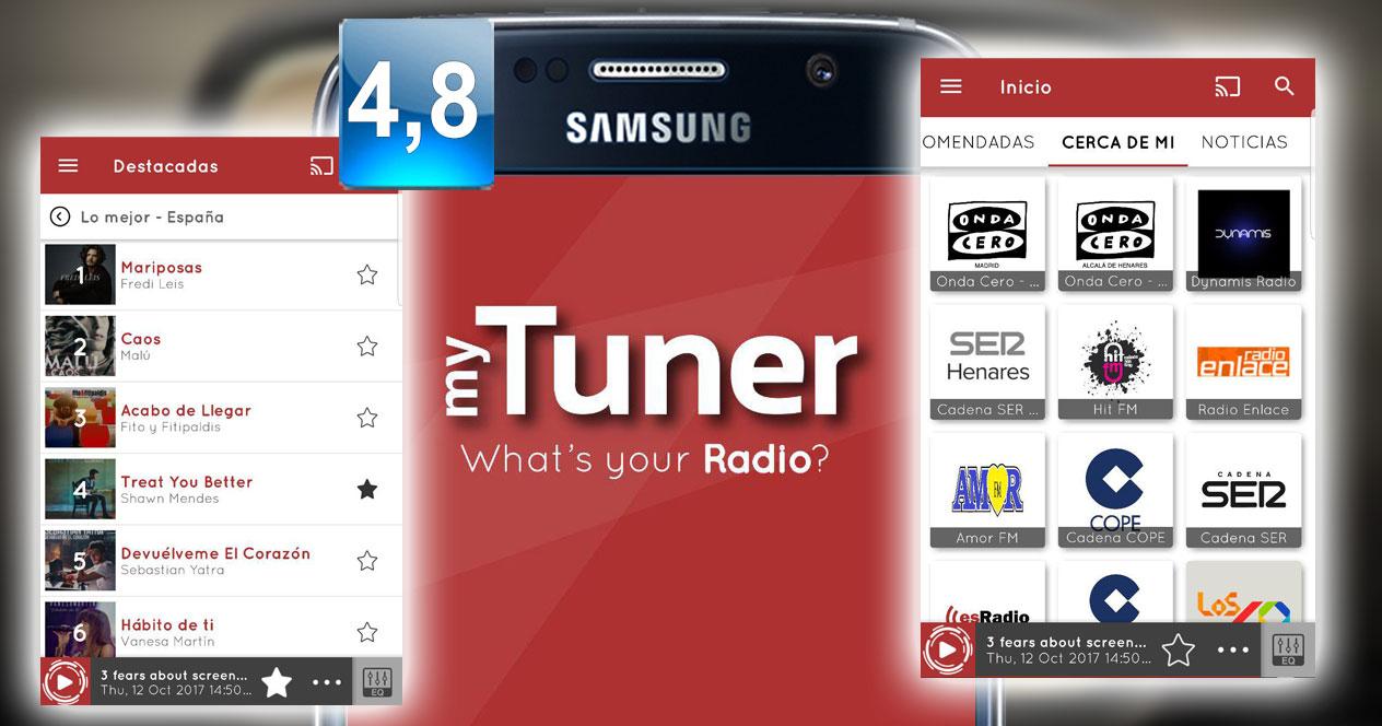 Aplicación myTuner Radio