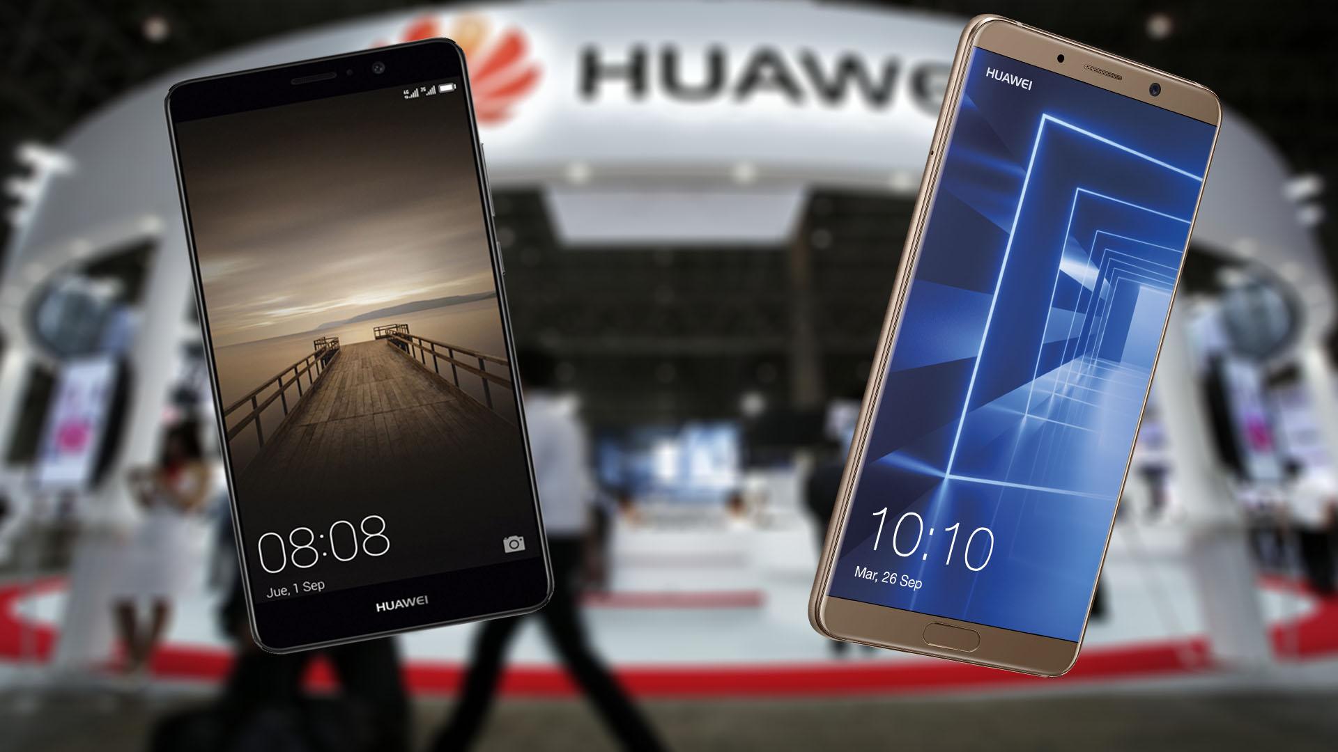 Huawei Mate 10 vs Huawei Mate 9