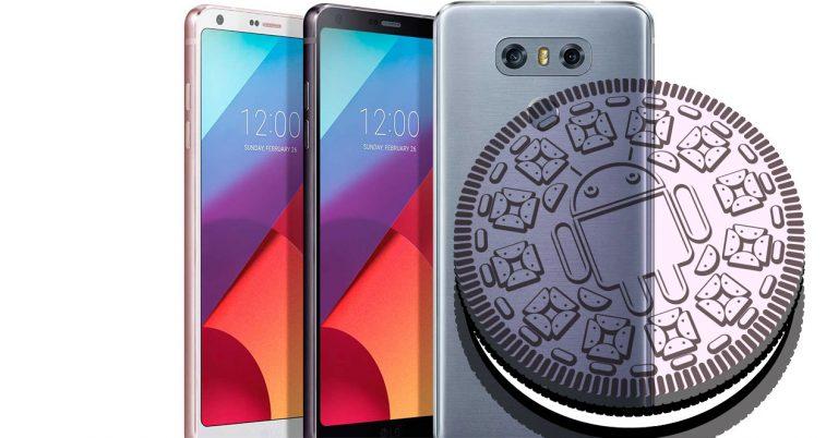 Los LG G6 recibirán Android Oreo