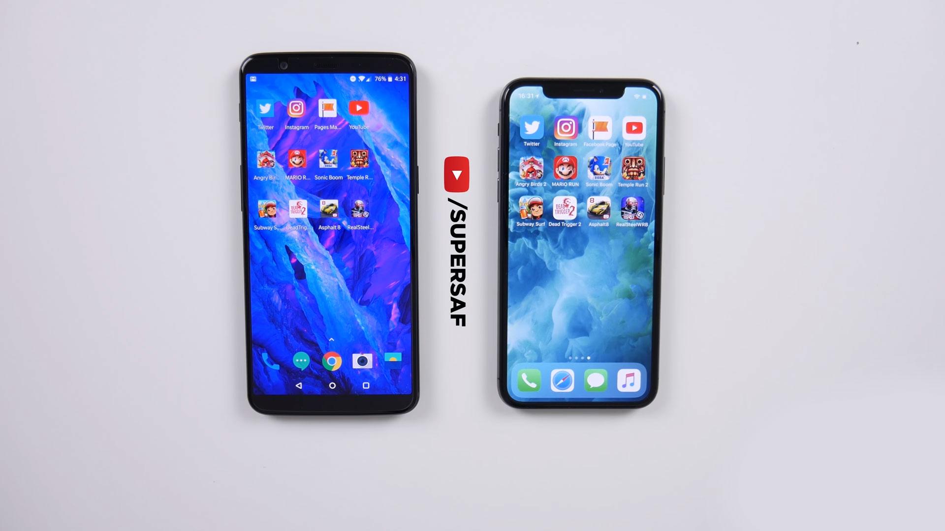 Apps a prueba en la comparativa