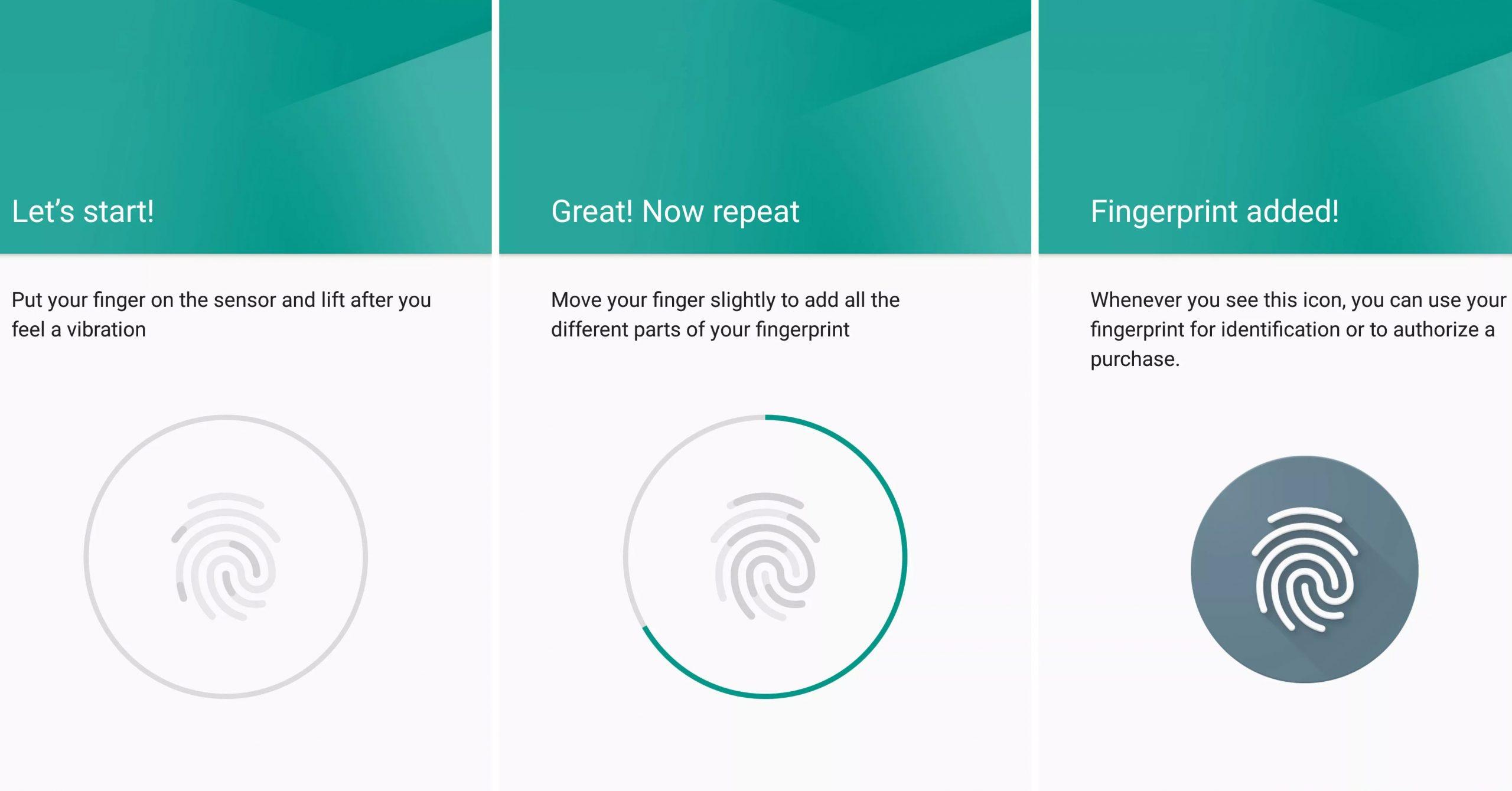 Cómo añadir más huellas para desbloquear tu teléfono