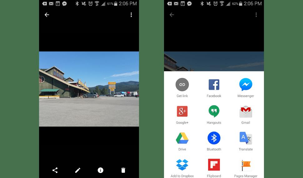 Cómo crear un link en Google Photos