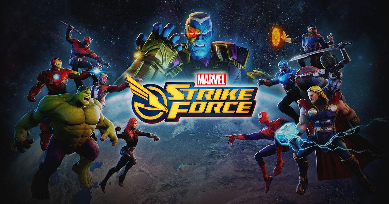 Marvel Strike Force se lanzará para Android en 2018