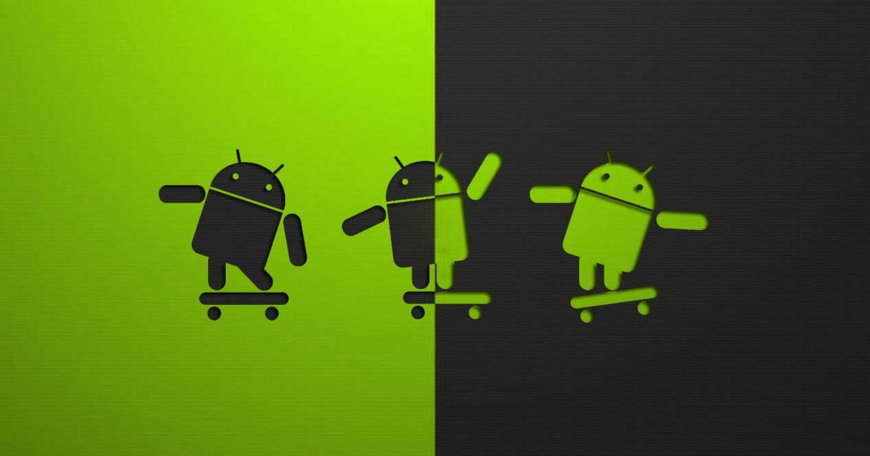 evolución interfaz Android