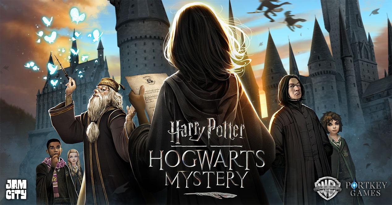 tráiler de Harry Potter: Hogwarts Mystery