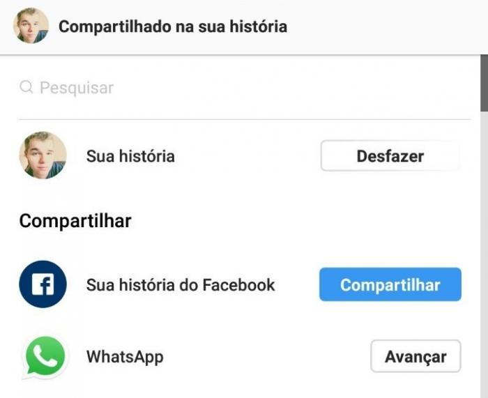 instagram sincronizar stories whatsapp