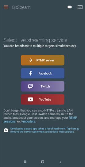 Cómo hacer streaming en twitch BitStream