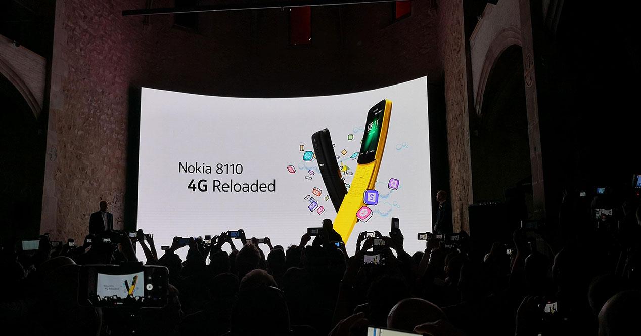 Nokia 8110 MWC 2018