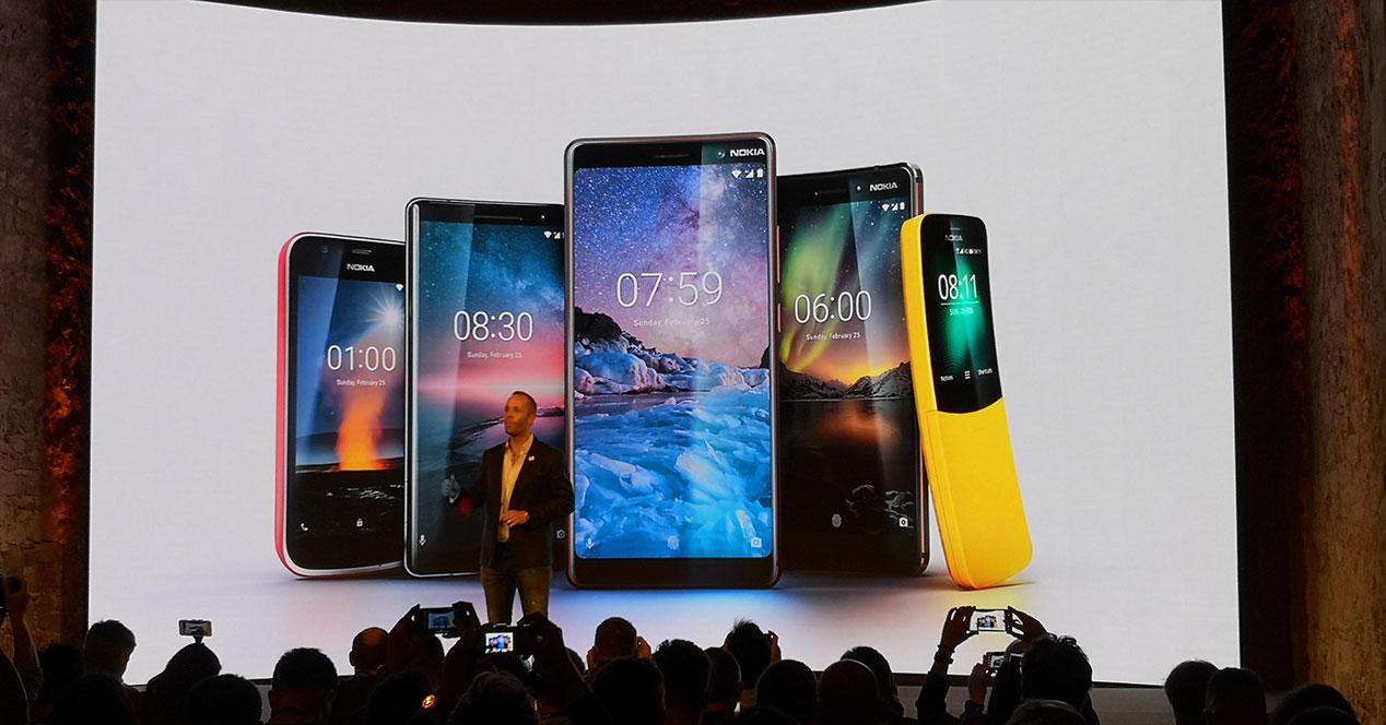 Nokia en el Mobile World Congress 2018