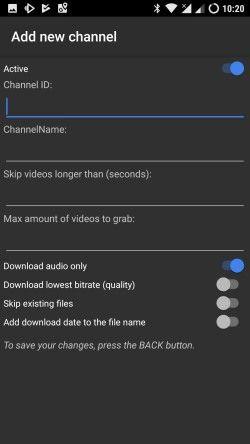 convertir vídeos de YouTube en podcast