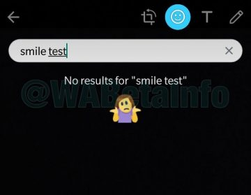 WhatsApp Beta búsqueda stickers