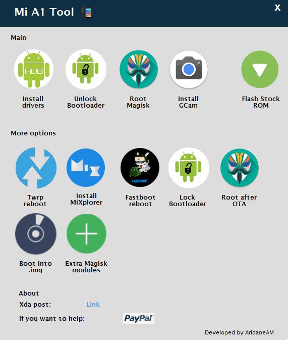 Rootear einstalar ROMs en el Xiaomi Mi A1