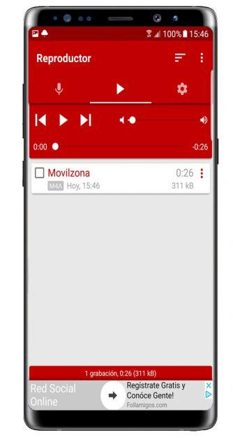 Reproducción Voice Recorder Pro - High Quality
