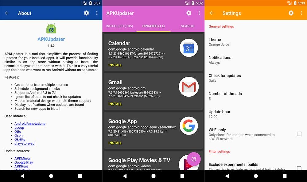 actualizar aplicaciones sin depender de la Play Store