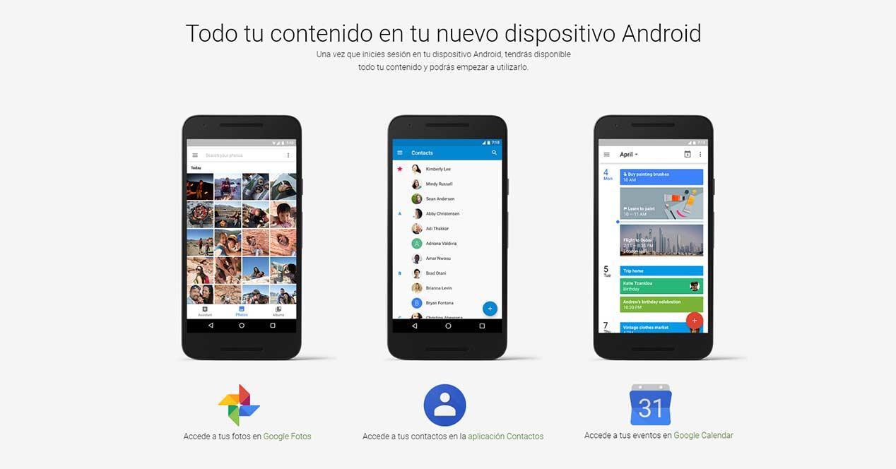 pasar datos de un iPhone a Android