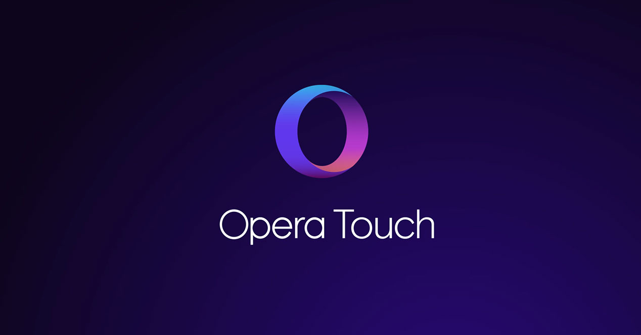Opera Touch navegador movil