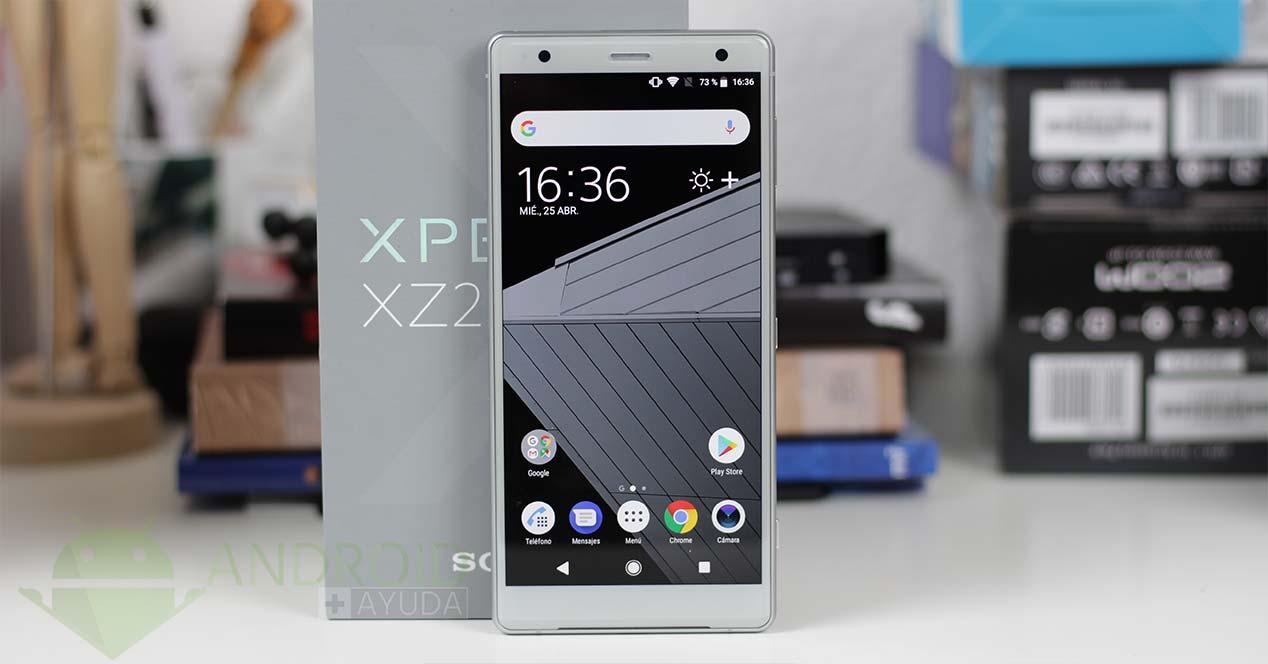 Videoanálisis Sony Xperia XZ2
