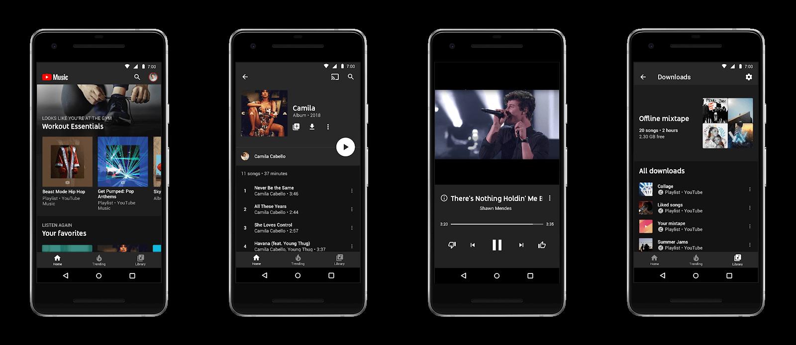 mejoras YouTube Music