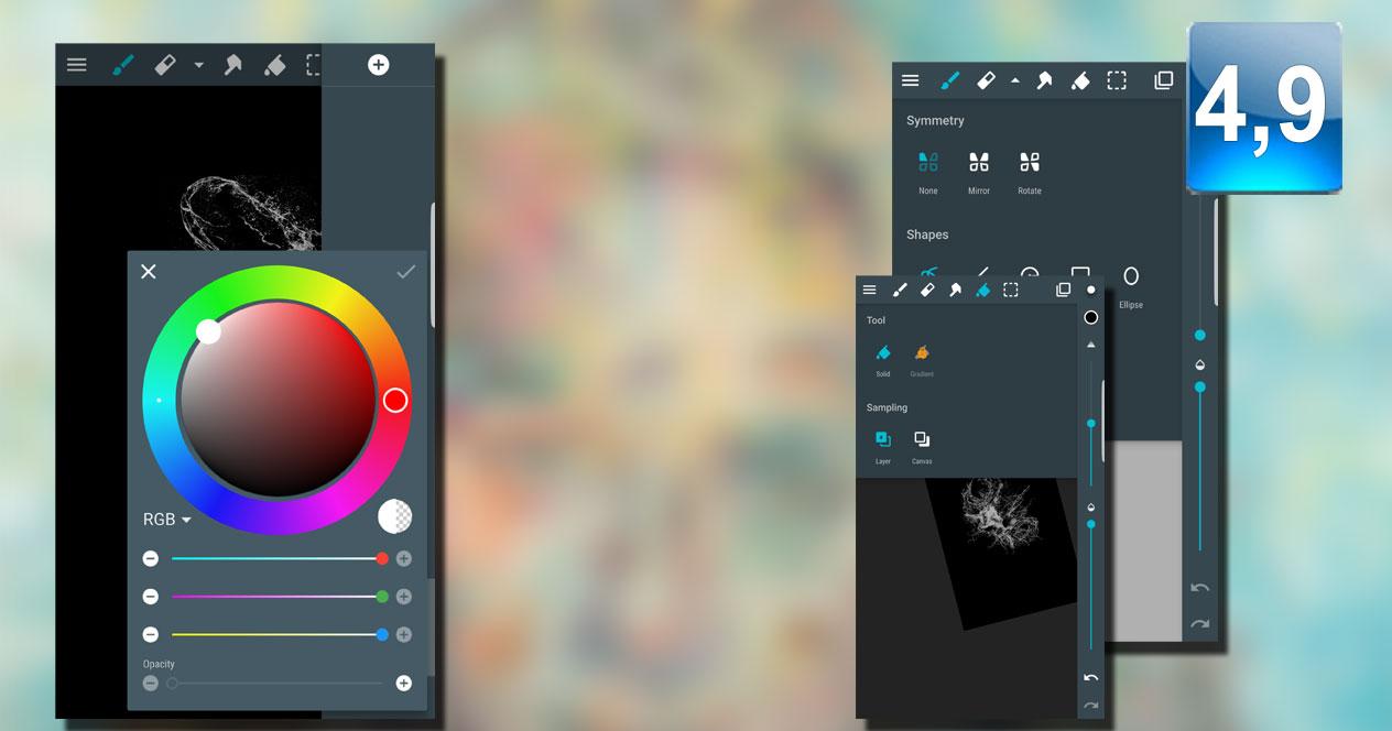 Aplicación ArtFlow: Paint Draw Sketchbook