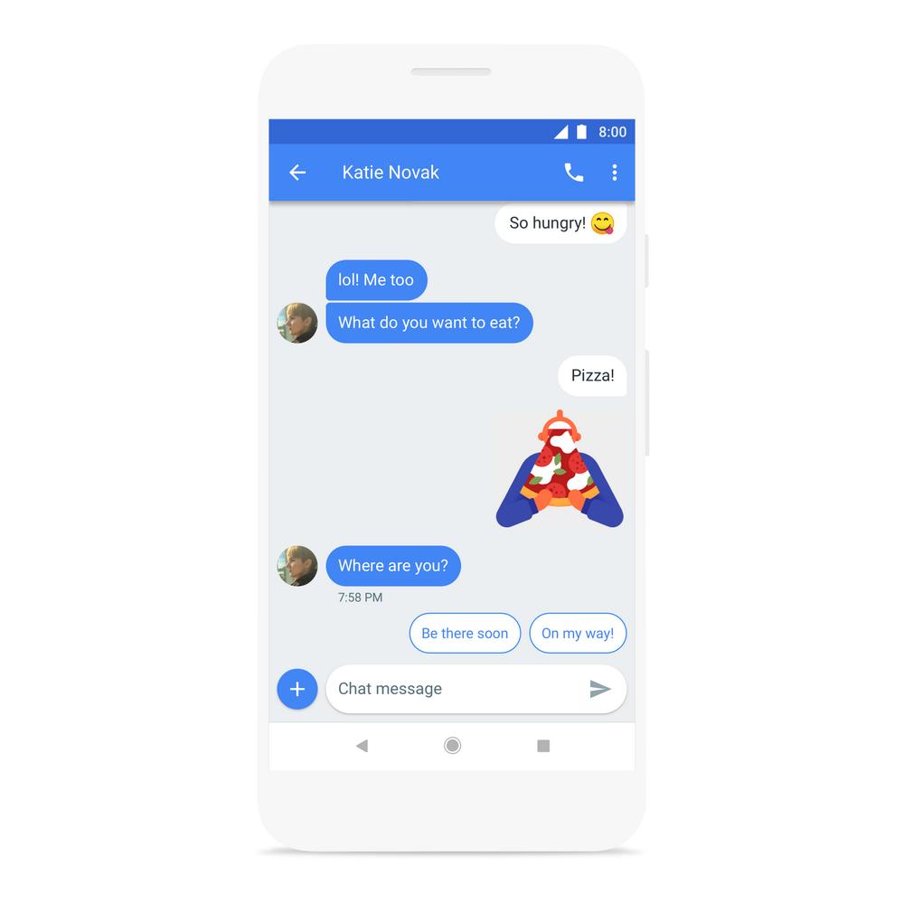 mensajes android sitio web