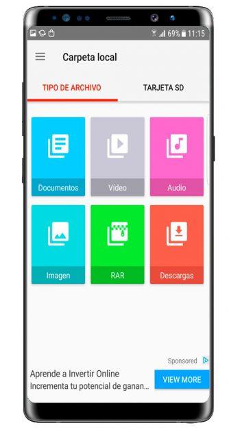 Opciones de uso de PDF Reader – Scan, Edit & Share