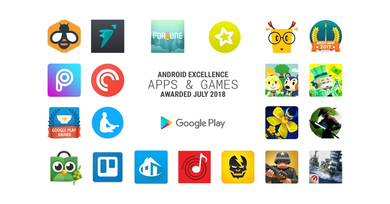 Android Excellence julio 2018