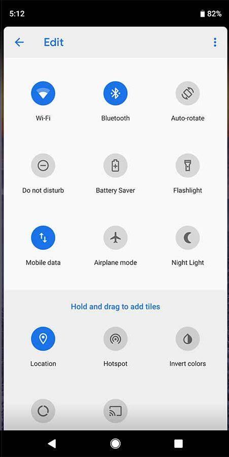 Novedades Android P DP4