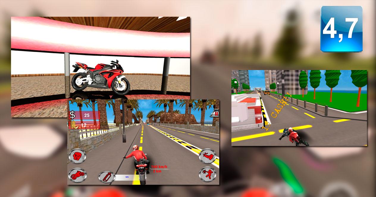 Juego Moto Rider Death Racer