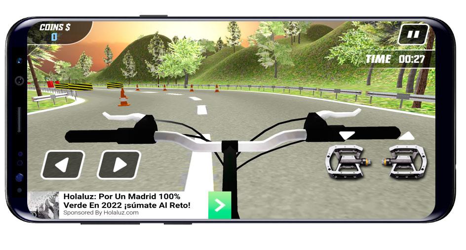 Interfaz de Super Cycle Jungle Rider