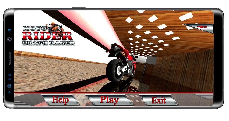 Inicio de Moto Rider Death Racer