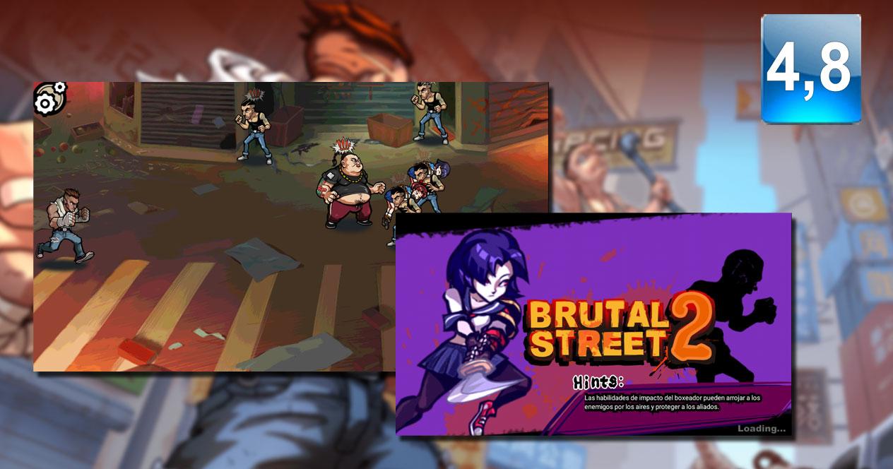 Juego Brutal Street 2
