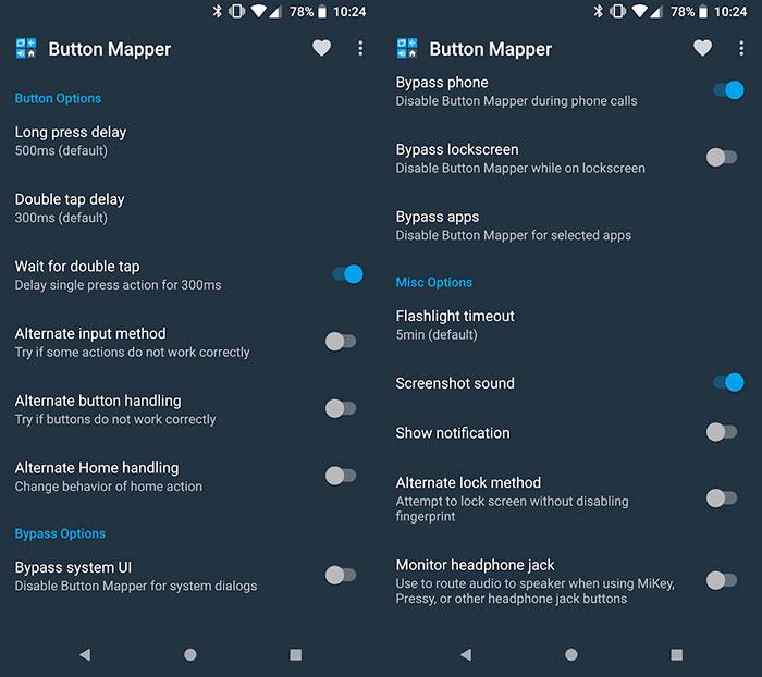 remapear los botones de Android