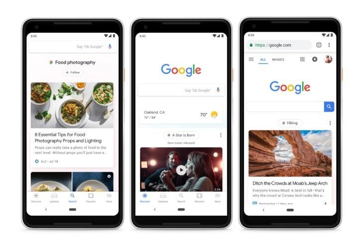 nuevo Google Discover