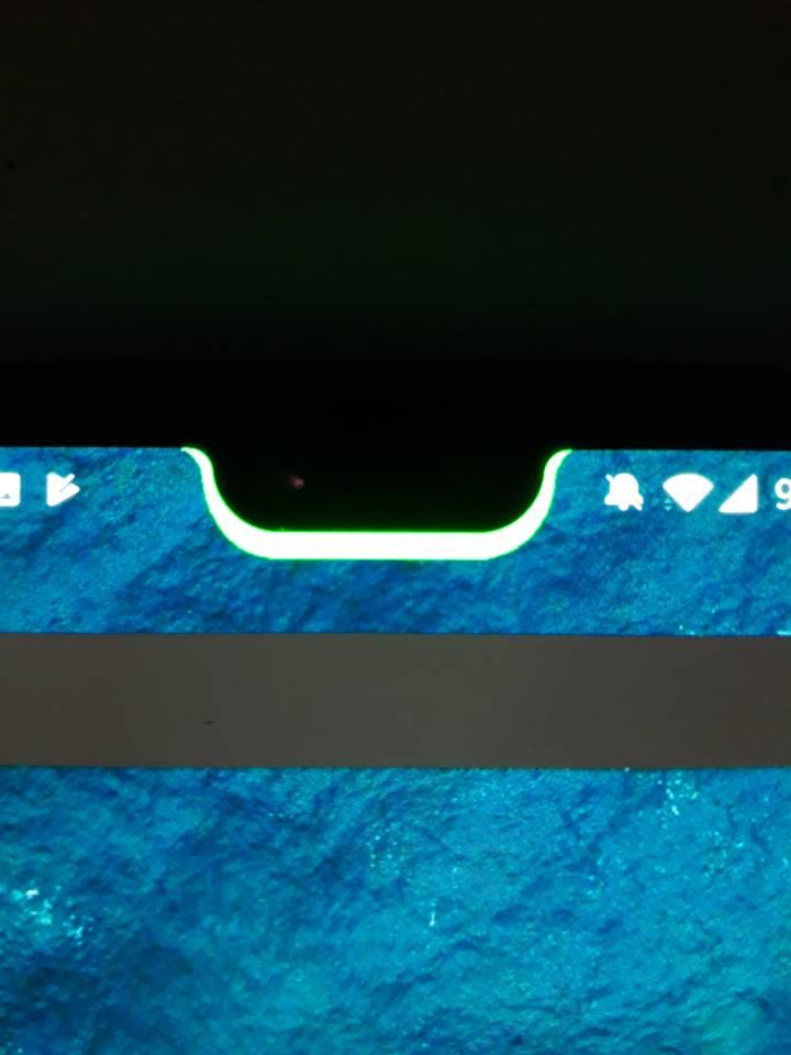 notch como indicador de batería