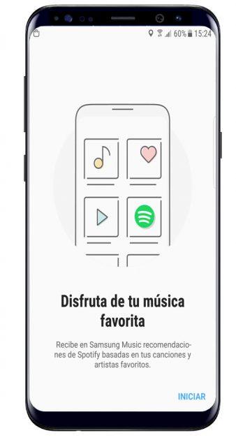Asistente Samsung Music