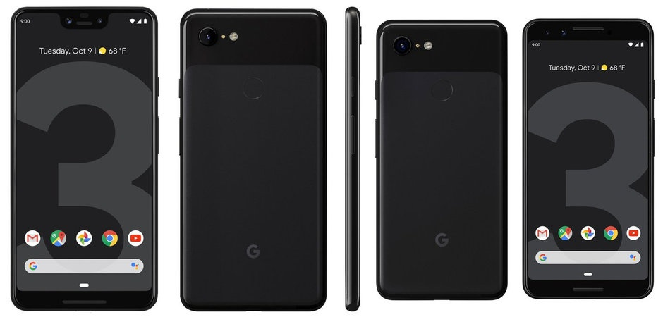 Características oficiales del Google Pixel 3