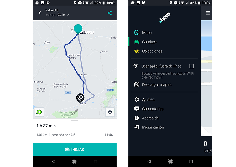 Mejores alternativas a google map para android