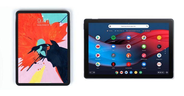 ipad pro 2018 vs pixel slate