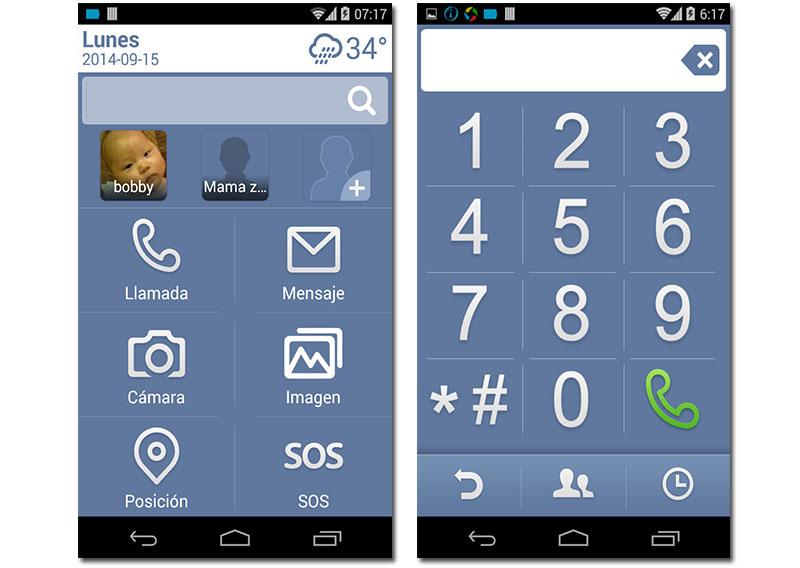 Grand Laucher, una opción para convertir móviles Android para mayores